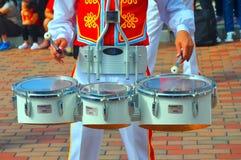 Disneyland drum player Stock Photo