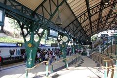 Hong Kong: Disneyland-Erholungsort-Station stockbilder