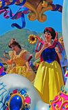 Disneyland fairy characters. Beautiful fairy characters of disneyland during the famous parade. location : disneyland, hong kong Royalty Free Stock Photo