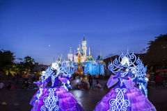 Disneyland fairy characters Royalty Free Stock Image
