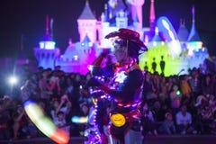 Disneyland feekarakters Stock Foto's