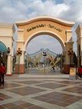 Disneyland filmu Paryski wejście Zdjęcia Royalty Free