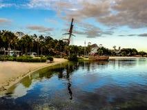 Disneyland Florida landskap royaltyfri fotografi