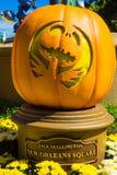Disneyland Halloween Pompoen stock fotografie