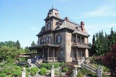 Disneyland-Haus von Grausigkeiten Stockbilder