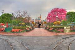 Disneyland HDR Photographie stock libre de droits