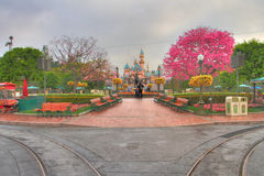 Disneyland HDR Fotografia Stock Libera da Diritti