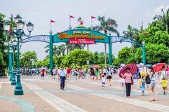 Disneyland Hong Kong Fotografering för Bildbyråer