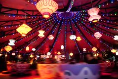 Disneyland Hong Kong - Disney nöjesfält Royaltyfri Bild