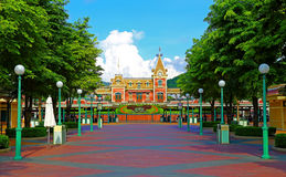 Disneyland hong kong Stock Image