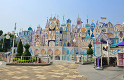 Disneyland in Hong Kong. It's a small world on Fantasyland in Disneyland, Hong Kong Stock Photos