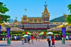 Disneyland Hongkong royalty-vrije stock foto