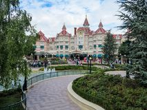Disneyland hotel Obraz Royalty Free