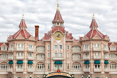 Disneyland hotel. Entrance to Disneyland Paris, Eurodisney Royalty Free Stock Photography