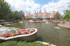 Disneyland Hotel (Paris) Royalty Free Stock Photography