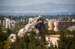 DISNEYLAND i Los Angeles, Kalifornien, USA arkivbild