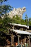 Disneyland Kalifornia przygody grizzly rzeki bieg przejażdżka Obrazy Royalty Free