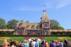 Disneyland Kalifornien arkivfoton