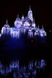 Disneyland kasteel stock foto's