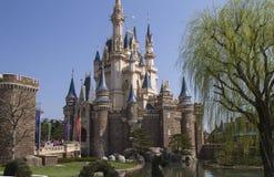 Disneyland Kasteel royalty-vrije stock foto