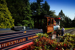 disneyland linia kolejowa Fotografia Royalty Free