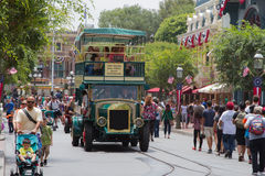 Disneyland Main Street Immagine Stock