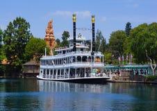 Disneyland Mark Twain Steamboat Obraz Royalty Free