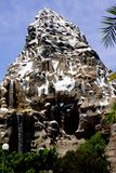 Disneyland Matterhorn Rollercoaster Bobsled Ride Royalty Free Stock Photo