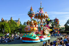 Disneyland parada Fotografia Stock