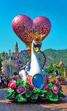 Disneyland parade Royalty-vrije Stock Afbeeldingen