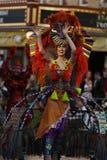 Disneyland-Parade-Tänzer lizenzfreie stockbilder