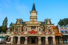 Disneyland Parijs, het Stadhuis Stock Foto's