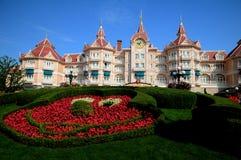 Disneyland Parijs - ingang aan het park Stock Fotografie