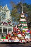 Disneyland Parijs Kerstmis royalty-vrije stock afbeelding