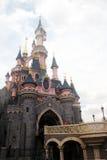 Disneyland Parijs Straatscène stock afbeelding