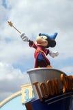 Disneyland Parijs Straatscène stock fotografie