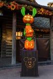 Disneyland Parijs tijdens Halloween-vieringen Stock Foto