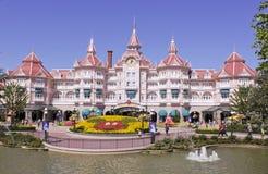Disneyland Parijs vijftiende Anniversarry Stock Afbeeldingen