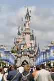 Disneyland Parijs vijftiende Anniversarry Stock Foto