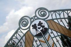Disneyland Parijs vijftiende Anniversarry stock afbeelding