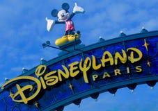 Disneyland Parijs vijftiende Anniversarry royalty-vrije stock fotografie
