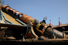 Disneyland Paris. Space Mountain at Disneyland Paris Stock Photography