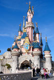 Disneyland Paris. The Castle in Disneyland Paris, France Royalty Free Stock Photo