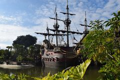 Disneyland Paris Adventureland Lizenzfreies Stockbild