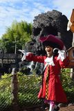 Disneyland Paris Adventureland Stockbilder