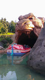 DISNEYLAND PARIS Aladin grotta Arkivfoton