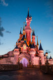 Disneyland Paris castle Stock Photography