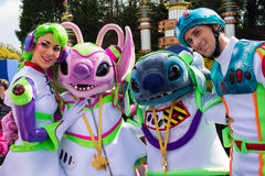 Disneyland Paris characters Stock Images