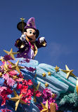 Disneyland Paris characters, Mickey Mouse on parade Royalty Free Stock Images