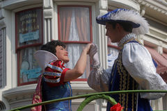 Disneyland Paris characters on parade Royalty Free Stock Photo